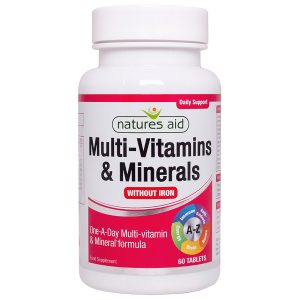 Multi Vitamins And Minerals Without Iron
